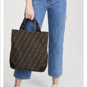 Handbags - Authentic Fendi Zucca tote 🐒